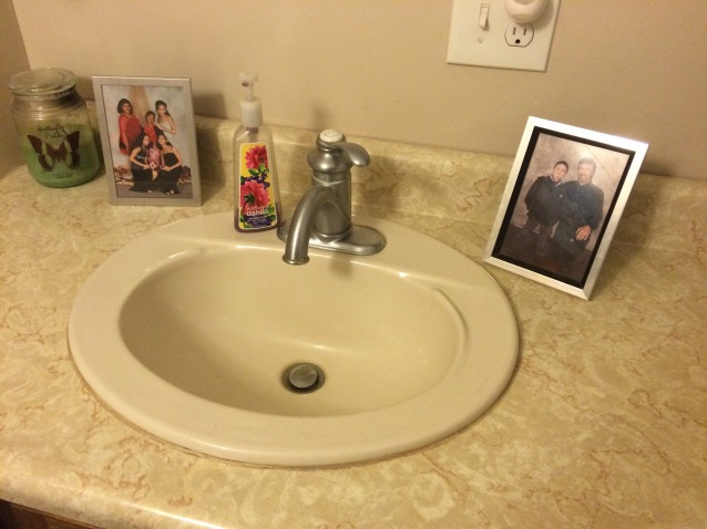 Photos in Bathroom